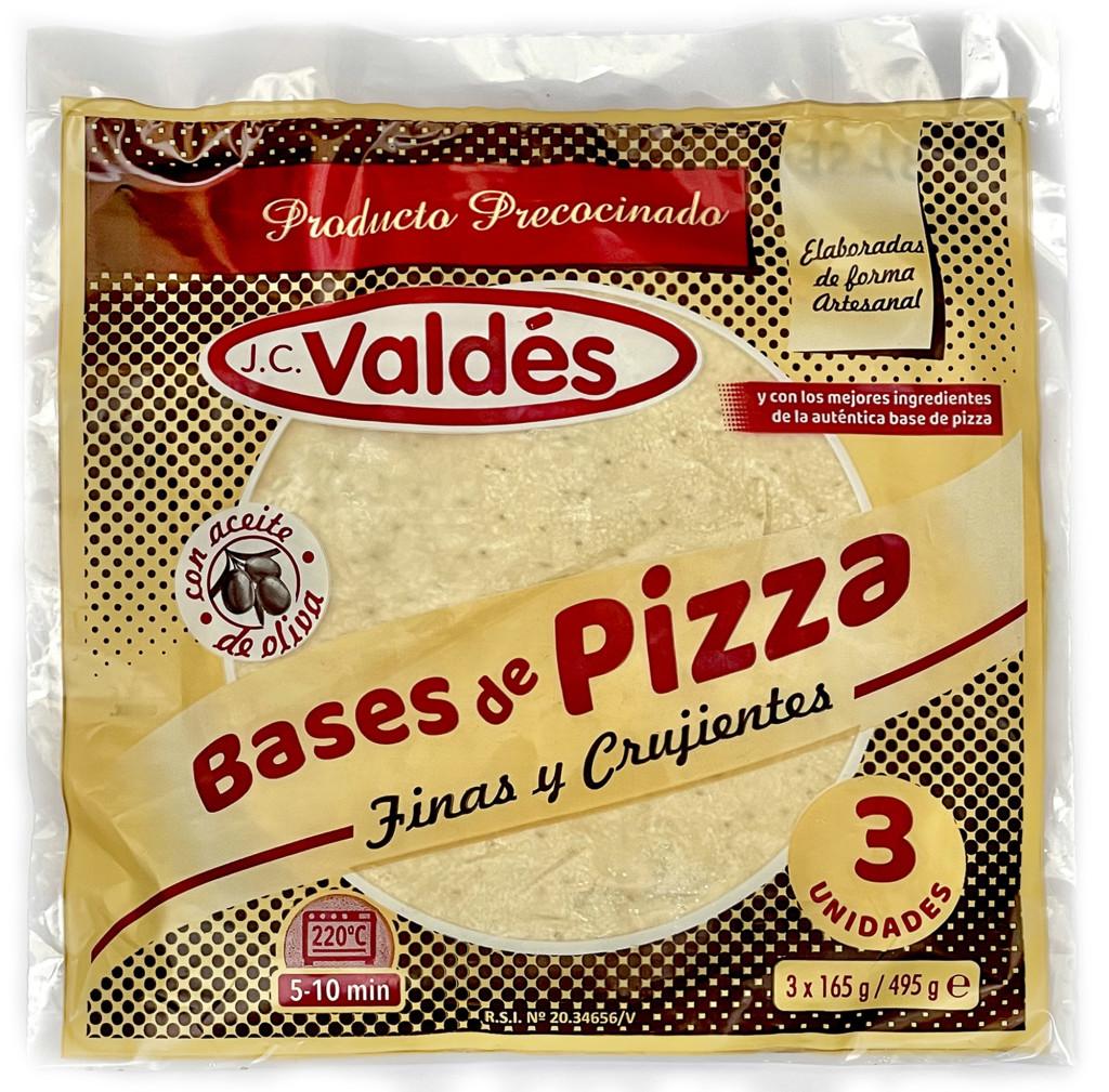 Bases de pizza finas i crujientes